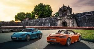 The Porsche 718 Challenge