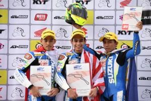 Another Podium in Team Suzuki Pilipinas' Belt at SAC Round 4