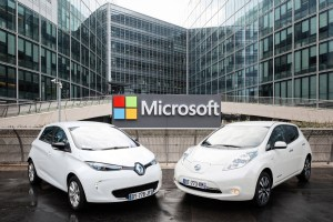 Renault-Nissan and Microsoft Partnership