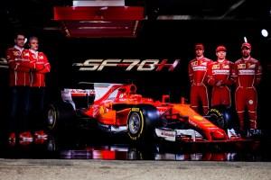 Meet the new F1 Contender from Ferrari: SF70H