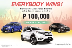 Honda offers more exclusive packages this March