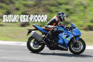 Introducing: The SUZUKI GSX-R1000R