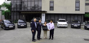 Volkswagen PH turns over Polo Sedan, Touareg and Passat units to DNS