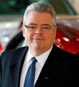 Bertrand Lessard the new Managing Director of Ford Philippines