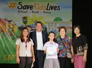 FedEx celebrates National Safe Kids Week – 2017 Young Road Safety Champion