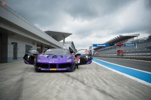 Angie King at Ferrari Challenge Asia Pacific