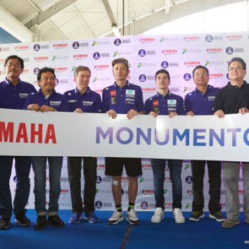 Valentino Rossi and Maverick Vinales return to Manila
