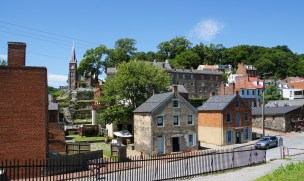 Harpers Ferry historic city