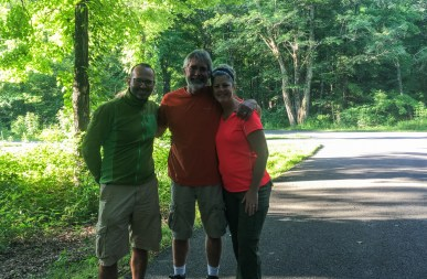 Met Rod and Whitney from Illinois on a campground