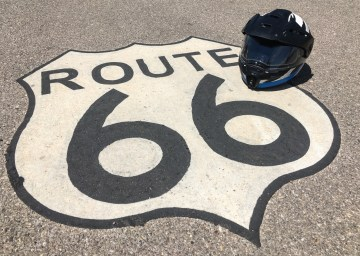 Famous and historic Route 66
