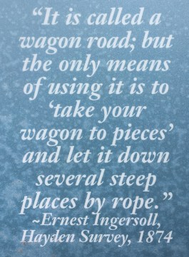 Old quote about the Stony Pass