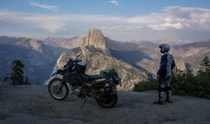DR650 at Yosemite