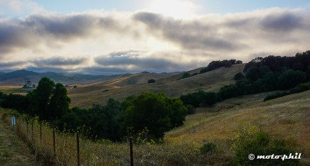 Clouds over the Sierra