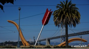 Cupid's span, one of the newer art pieces in SF