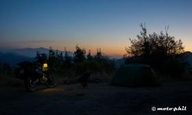 Sunrise was equally calming on Prewitt Ridge