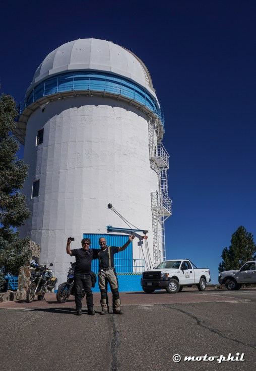 Visited the Telescope in the San Pedro national Park, it's the third best telescope location in the world!