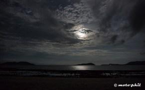 The moon in the Bahia