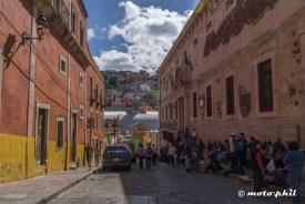 Streetscente in Guanajuato
