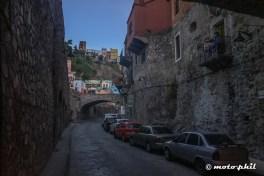Old street in Guanajuato