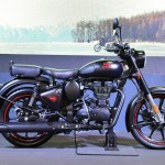 Royal Enfield Shows Off Classic Stealth Black Bullet Trials Motorcycle News