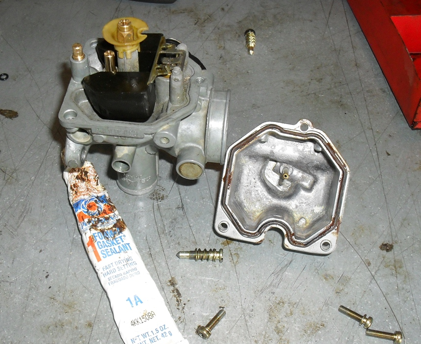 dirtbike carb 101 part 3 lets put it back together rh motopsyco com honda xr100r carburetor adjustment honda xr100 carburetor parts