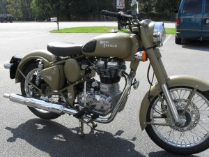 A genuine 2012 Royal Enfield Classic 500