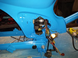 Wiring Honda Passport C70 restoration