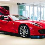 El Ferrari 812 Gts Se Muestra Por Primera Vez En Rosso Corsa Y En Vivo Motor Es