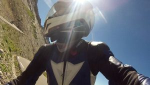 Auffahrt auf den Col du Galibier