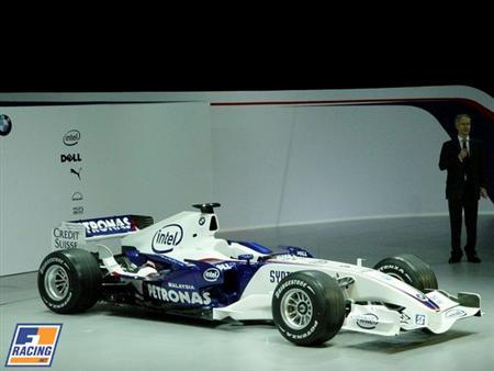 BMW Sauber Presenta su Fórmula 1