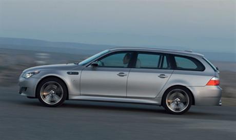 BMW M5 Touring, fotos oficiales