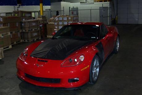 Fotos espía del Chevrolet Corvette SS