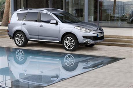 Imágenes y datos del Citroën C-Crosser