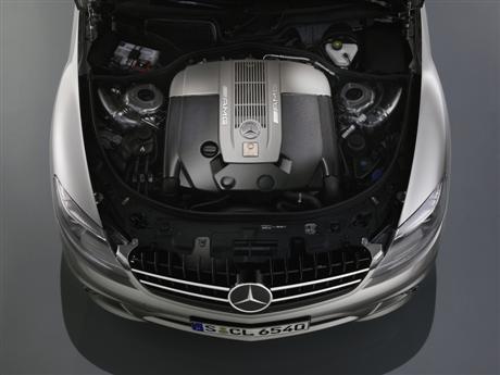 Mercedes CL65 AMG, fotos oficiales