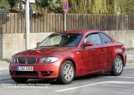 Nuevas fotos espías del BMW Serie 1 Coupé