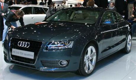 Primeras fotos del Audi A5 en el salón de Ginebra