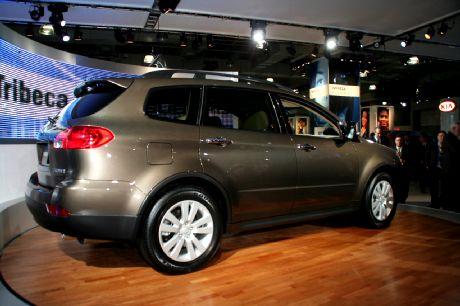 Salón de Nueva York: Subaru Tribeca