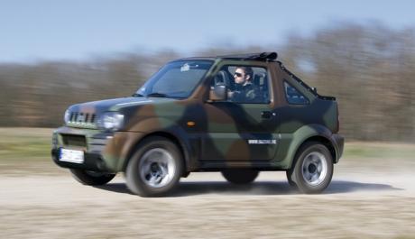 """Suzuki Jimny """"Camouflage"""" y """"Daktari"""""""