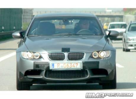 BMW M3 Descapotable, cazado