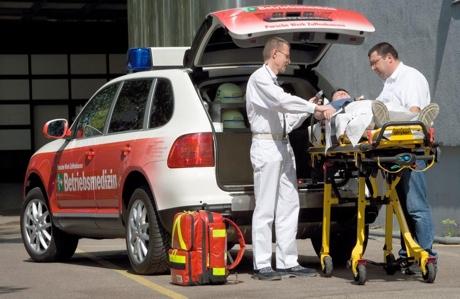 Porsche Cayenne S edición ambulancia