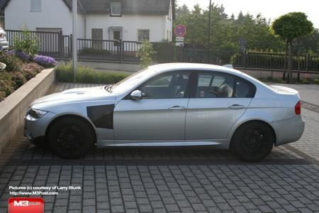 BMW M3 Berlina, cazado en Nürburgring