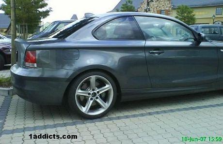 Más fotos espías del BMW Serie 1 Coupé