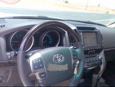 Toyota Land Cruiser 2009, cazado en Dubai