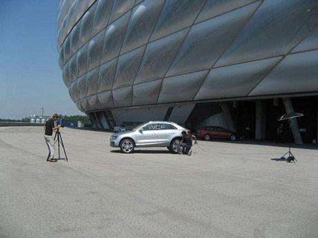 Audi Cross Coupe Concept en sesión fotográfica