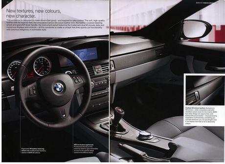Folleto del BMW M3