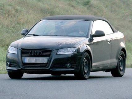 Audi A3 Cabrio: camuflaje eliminado por ordenador
