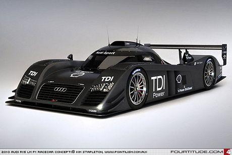 Audi R15 TDI, puede que algo más que una imaginación