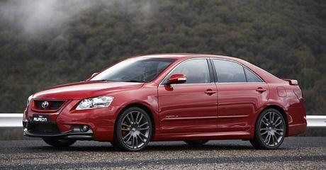 Toyota Aurion TRD, el tracción delantera más potente para Australia