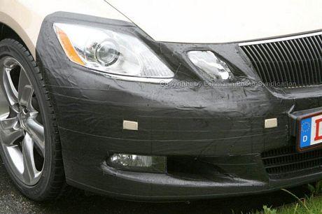 Facelift del Lexus GS, fotos espías