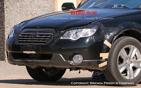 Fotos espías del Subaru Forester